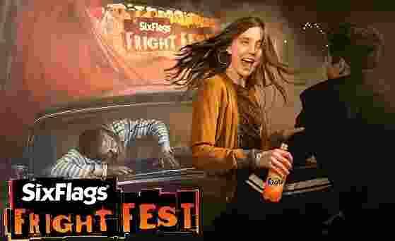 Coke Six Flags Halloween Fright Fest Sweepstakes - Win Tickets