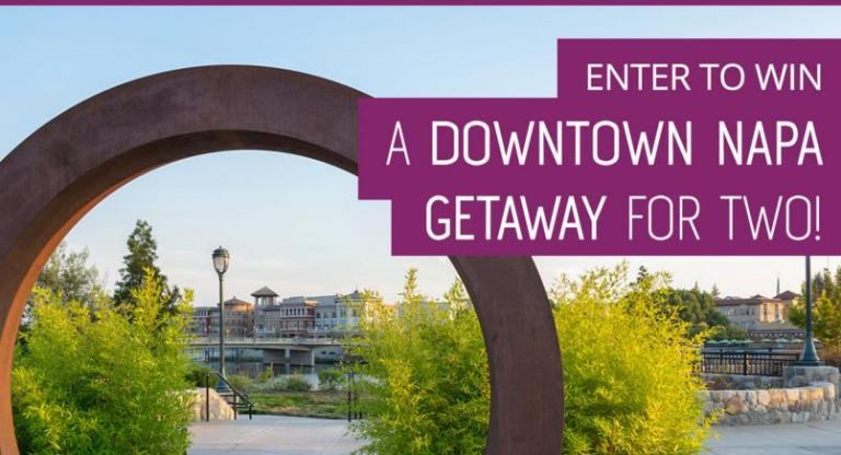 Downtown Napa Trip For 2 Giveaway - Win Trip
