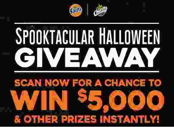 Fanta Spooktacular Halloween Giveaway - Win Check