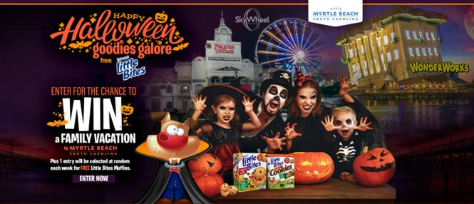 Little Bites Halloween Sweepstakes – Win Tickets