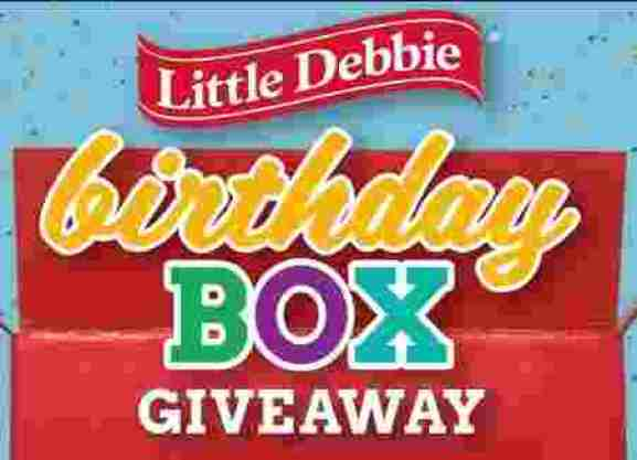 Little Debbie Birthday Box Giveaway - Win Prize
