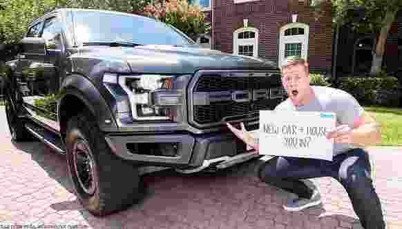 Omaze JJ Watt Houston House Car Sweepstakes - Win Trip