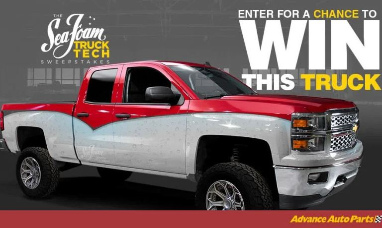 PowerNation TV Sea Foam Truck Tech Sweepstakes - Win Car