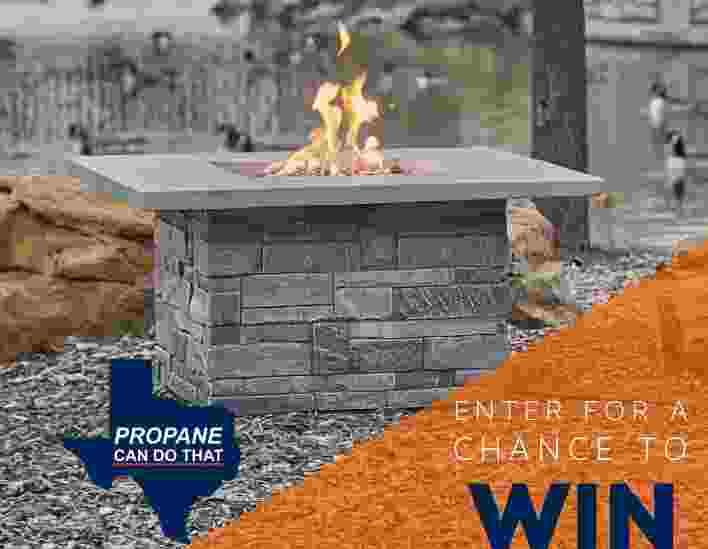 Propane Fire Table Contest - Win Prize