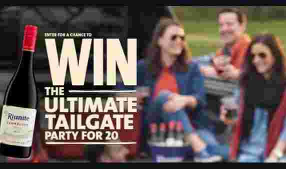 Riunite Ultimate Tailgate Party Sweepstakes - Win Tickets