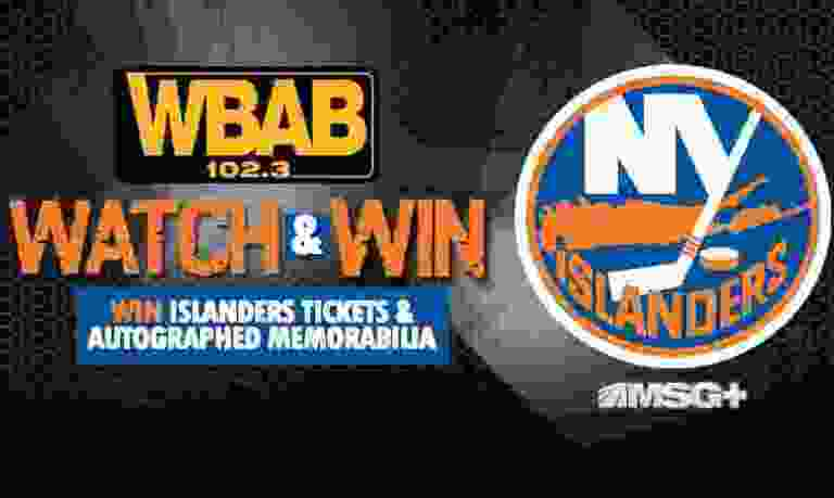 WBAB Islanders Player to Watch Sweepstakes - Win Tickets