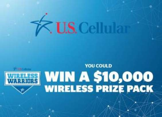 US Cellular Wireless Warrior Sweepstakes - Win Cash Prizes
