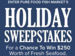 Pure Food Fish Market Holiday Giveaway - Win Gift Card