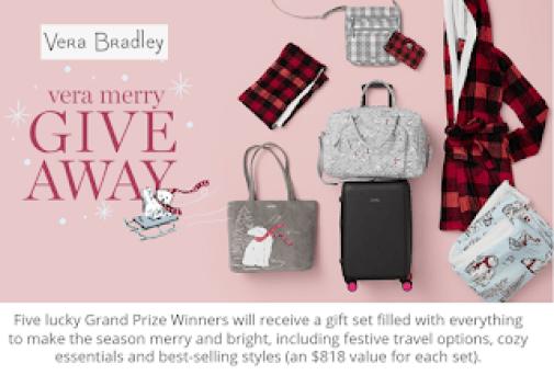 Very Bradley Vera Merry Giveaway