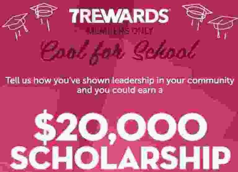 7Rewards $20000 Slurpee Scholarship Contest - Win Check