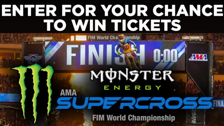 ABC7 Supercross In Anaheim Sweepstakes - Win Tickets