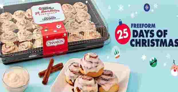 Cinnabon 25 Days of Christmas Sweepstakes - Win Check