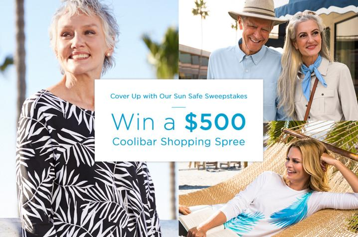 Coolibar Perfect Gift Sweepstakes - Win Cash Prizes