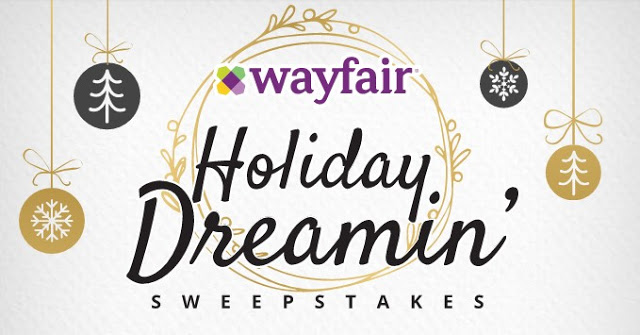 Wayfair Dream Home For The Holidays Sweepstakes – Win Gift Card