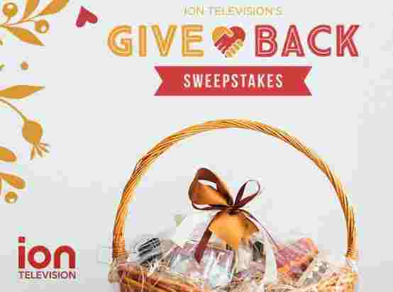 ION Television Give Back Sweepstakes