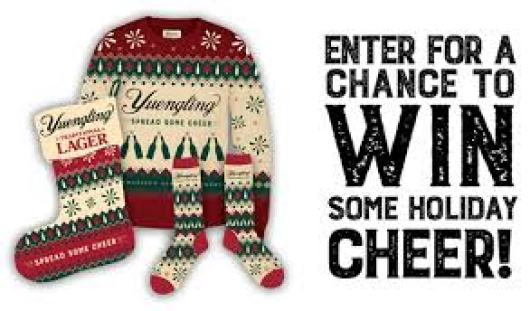Yuengling Spread Some Cheer Sweepstakes - Win Gift Card