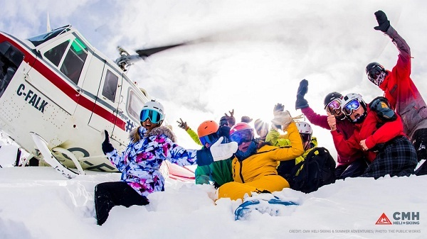 Omaze Heli Skiing Sweepstakes - Win Trip