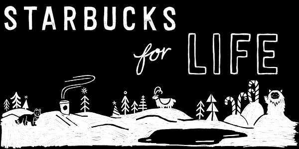 Starbucks For Life 2019 Collect and Win Reward Game - Win Prize