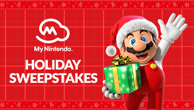 My Nintendo Holiday Sweepstakes - Win Gift Card