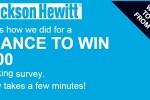 Jackson Hewitt Feedback Survey Sweepstakes - Win Gift Card