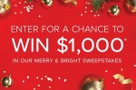 Merry and Bright Sweepstakes - Win Gift Card