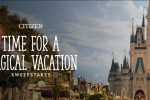 Citizen Watch Time For A Magical Vacation Sweepstakes - Win Trip