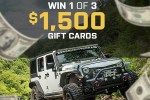 ExtremeTerrain Refund Your Build Sweepstakes - Win Gift Card
