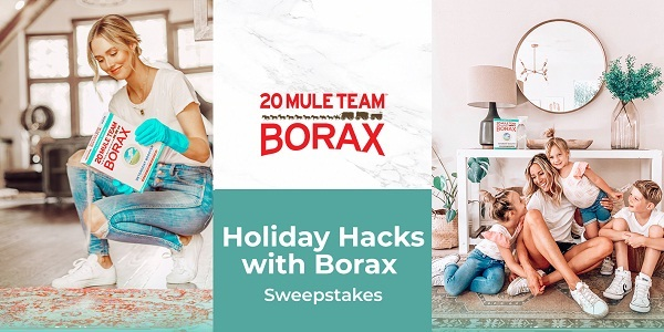 20 Mule Team Borax Holiday Sweepstakes - Win Gift Card