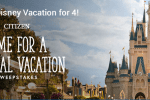 Citizen Watch Walt Disney World Vacation Sweepstakes - Win Trip