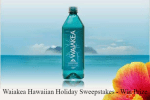 Waiakea Hawaiian Holiday Sweepstakes - Win Prize