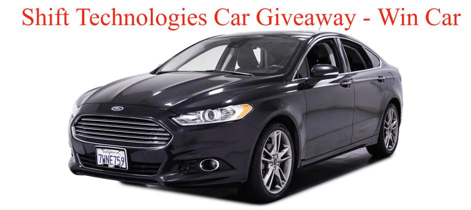 Shift Technologies Car Giveaway - Win Car