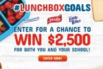 Moms Return To School LunchboxGoals Sweepstakes - Win Cash Prizes