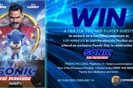 Sonic the Hedgehog Sweepstakes - Win Trip