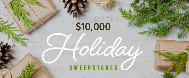 Hannaford Holiday Recipe Sweepstakes - Win Gift Card