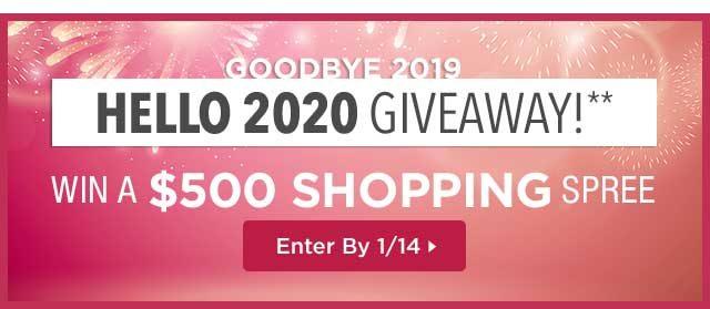 ShoeMall Goodbye 2019 Hello 2020 Contest - Win Cash Prizes