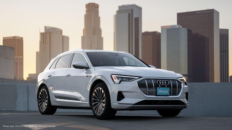 Omaze Audi Prestige Sweepstakes - Win Car