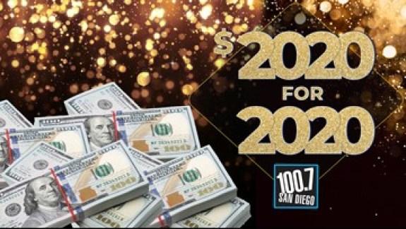 San Diego $2020 Sweepstakes - Win Cash Prizes