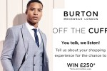 Burton Feedback Survey Sweepstakes - Win Cash Prizes