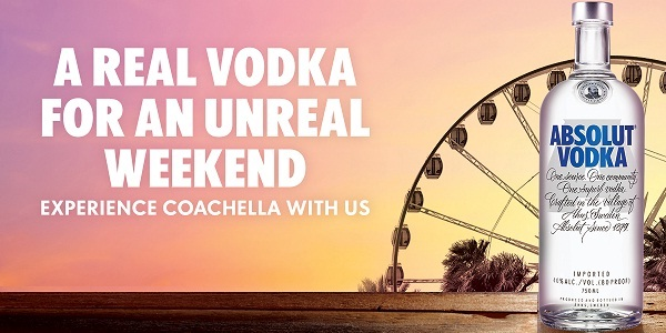Absolut Coachella Festival Sweepstakes - Win Trip