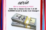Aerie Real Change Contest 2020 - Win Cash Prizes