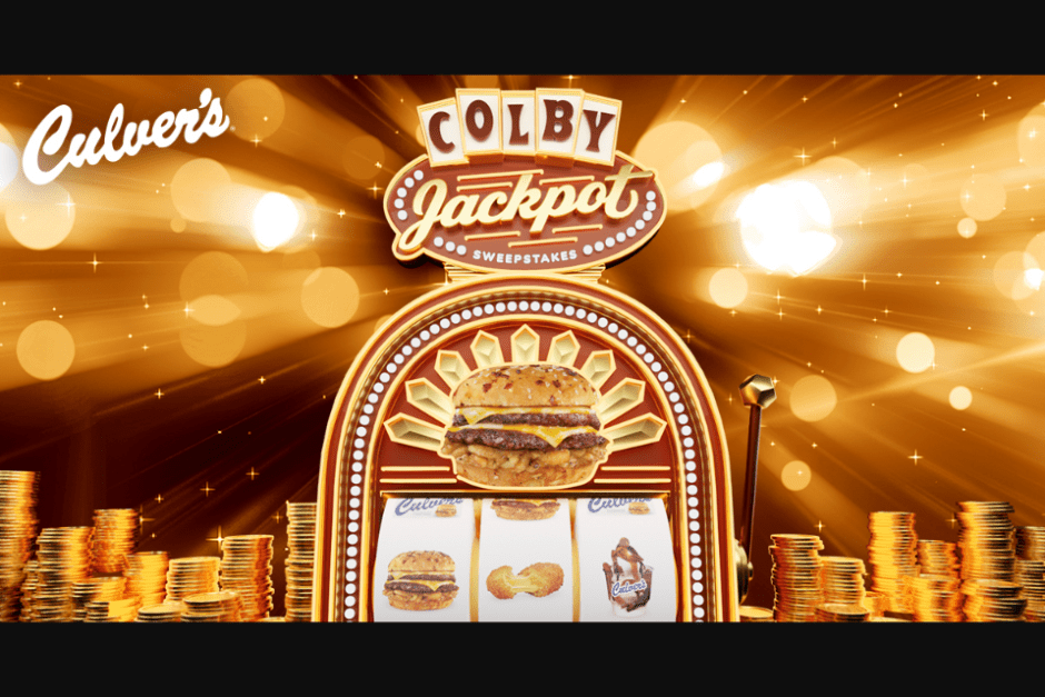 Culvers Colby JackPot Sweepstakes and Instant Win Game