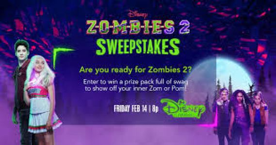 Disney Channel Zombies 2 Sweepstakes - Win Prize