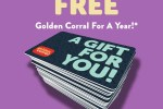 Free Golden Corral For A Year Sweepstakes