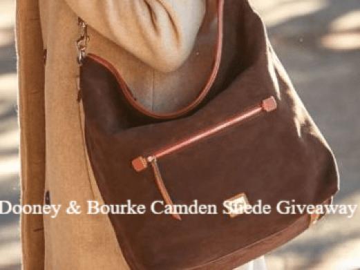 Dooney & Bourke Camden Suede Giveaway - Win Prize