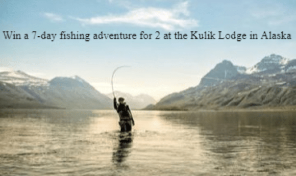 Simms G4 Kulik Lodge Sweepstakes - Win Trip