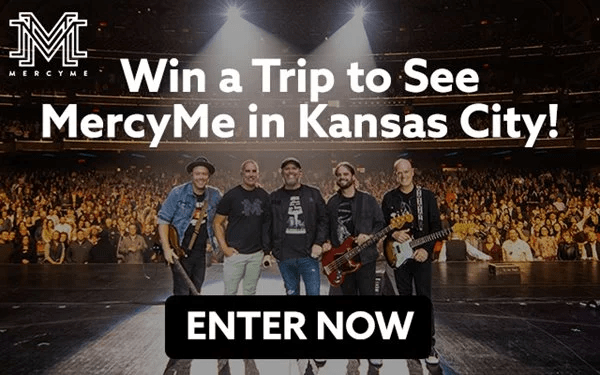 MercyMe Almost Home Getaway Sweepstakes - Win Trip
