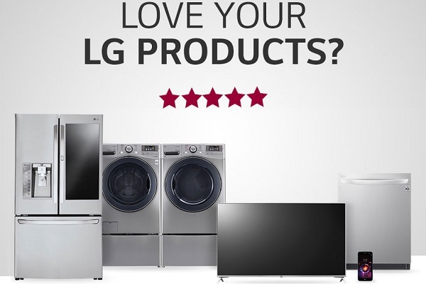 LGusa Product Registration Sweepstakes - Win Prize