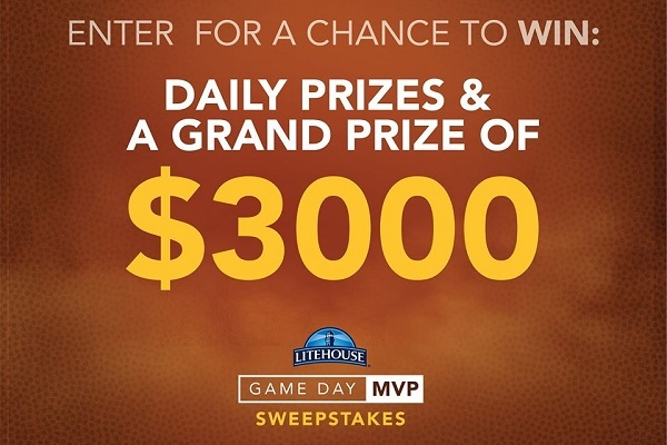 Litehouse Foods Game Day MVP Sweepstakes - Win Cash Prizes