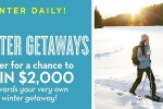 Midwest Living Winter Getaways Sweepstakes - Win Cash Prizes