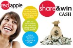 Tell Red Apple Feedback in Survey - Win Cash Prizes